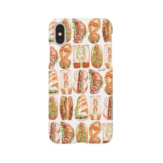 サンドイッチ Smartphone cases