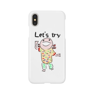 うーぱーぼうや Let's try Smartphone cases