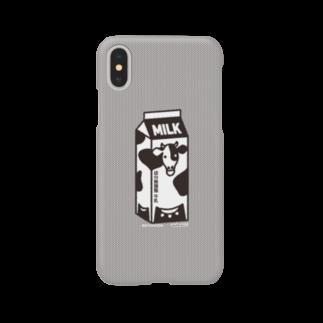 かめつるの牛乳パック Smartphone cases