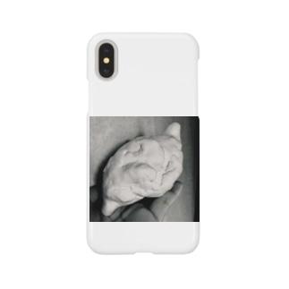 手乗り胃 Smartphone cases
