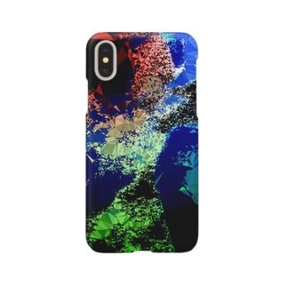 ポリゴン Smartphone cases