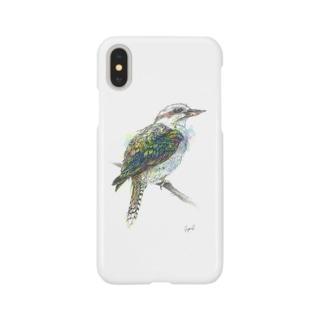 ワライカワセミちゃん Smartphone cases
