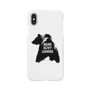 """BSL official web shopの""""Linda"""" for Bear Scat Lovers Smartphone cases"""