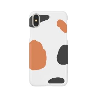 三毛猫にゃん Smartphone cases