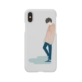 パーカー男子 Smartphone cases
