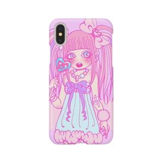 メンヘラちゃん Smartphone cases