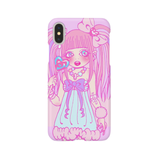 🍒CHERRY720🍒のメンヘラちゃん Smartphone cases
