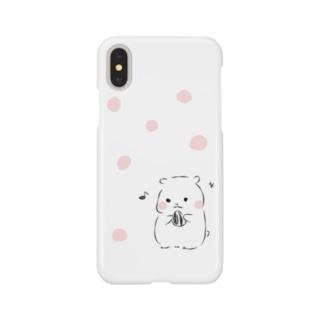 おしゃれでかわいいハムスター・うさぎの飼育ケージ販売 ふわもこのゆるはむ Smartphone cases
