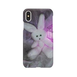 White usagi Smartphone cases