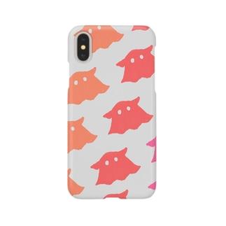 めんだこ(灰) Smartphone cases