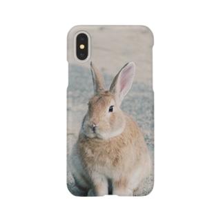 Kani(うさぎ)メイン Smartphone cases