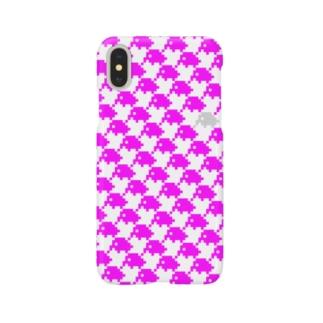 ピンクの象 Smartphone cases
