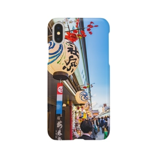 三社祭04 Smartphone cases