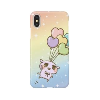 chackmo ゆめかわ☆わんこ(風船)  Smartphone cases