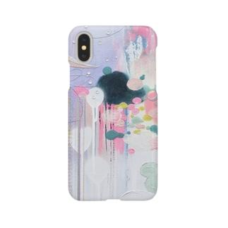 iPhoneケース*ちゃんとここで見てるから。 Smartphone cases