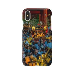 三社祭02 Smartphone cases