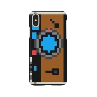 いいカメラを買ったよ!ケースPlus&X (BLACK) Smartphone cases