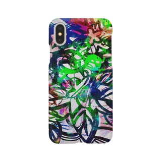 Tropical flowers  Smartphone cases