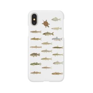 川の仲間 Smartphone cases