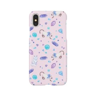 gemstone(pink) Smartphone cases