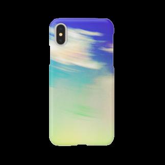 ウナーゴン20億3千万販売所のWHIRLING SKY Smartphone cases