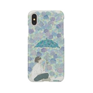 紫陽花 スマートフォンケース