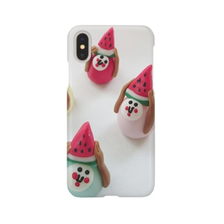 スイカラムネルさん Smartphone cases