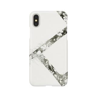 iPhoneケース【植物】 Smartphone cases