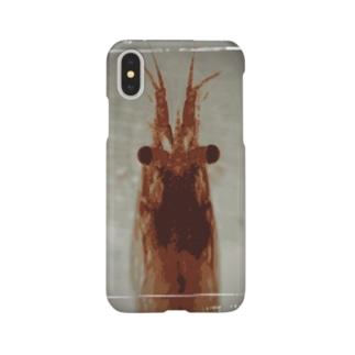 見て見て、僕エビ!!! Smartphone cases