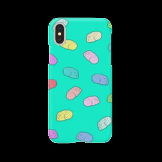 nins・にんずのネズミいっぱい Smartphone cases