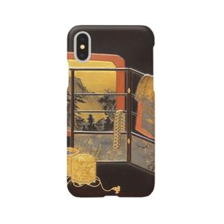 誰が袖蒔絵硯箱 Smartphone cases