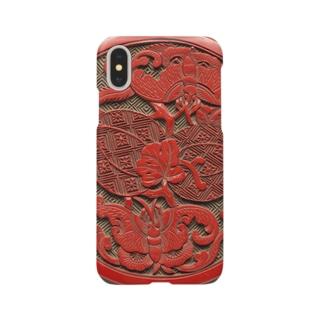 剔紅瓜瓞綿延圖盒 Smartphone cases
