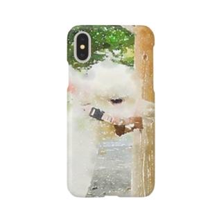 アルパカさん Smartphone cases