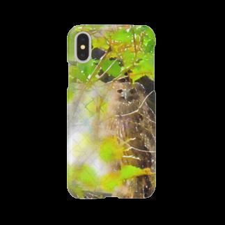 kaoru_andのふくろうの神さま Smartphone cases