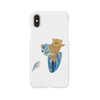 kuma surf (7) Smartphone cases