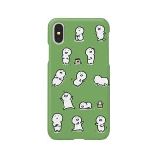 いっぱいお文具さん Smartphone cases