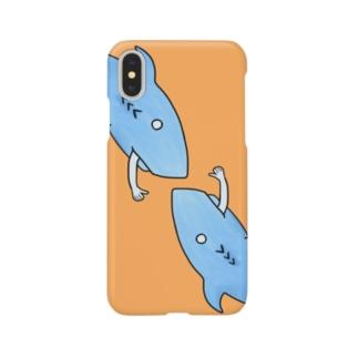 渡辺 光のBye Bye Animal さめ2 Smartphone cases