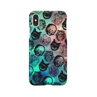 iPhoneケース【Nightmare】Mind Smartphone cases