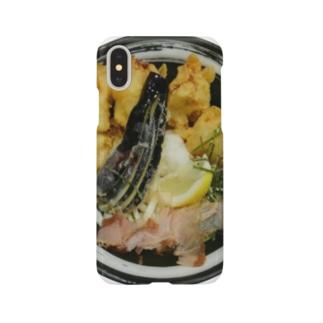 とり天うどん Smartphone cases