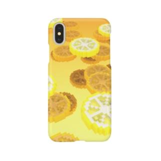 レモンのハチミツ漬け風 Smartphone cases