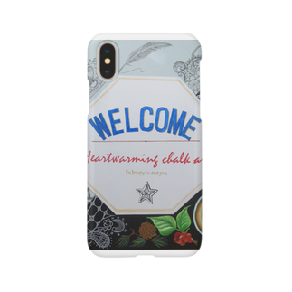 team-AのWELCOME Smartphone cases