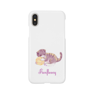 Fanfleecyのmeow meow(scottish fold) Smartphone cases