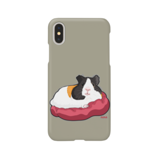 nins・にんずのイングリッシュモルモットのちょたさんシンプル Smartphone cases