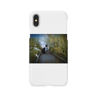 猫のガブくん Smartphone cases