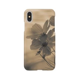 花弁(Sepia) Smartphone cases