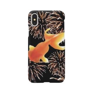 金魚花火 Smartphone cases