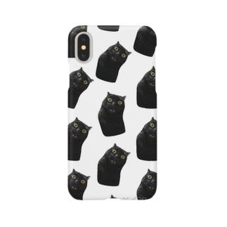 Graaaaaaaaドット柄 Smartphone cases
