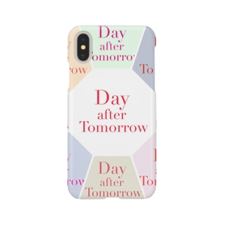 Day after Tomorrow iPhoneⅩ case Smartphone cases