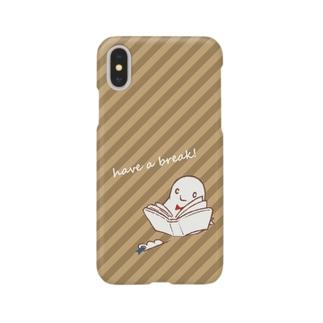 読書中 Smartphone cases