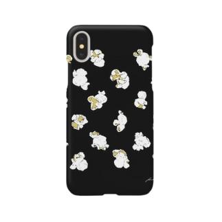 popcorn pack_black Smartphone cases